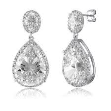 stunning dangle wedding earrings