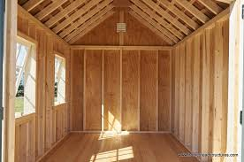 shed interior garden sheds photos homestead structures