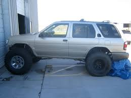 lifted nissan pathfinder 97 pathy pirate4x4 com 4x4 and off road forum