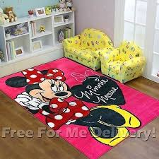 Tinkerbell Rug Minnie Mouse Rug Bedroom Minnie Mouse Rug Magical Memories