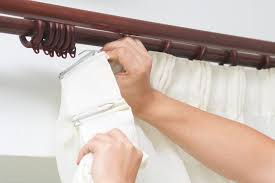 Cream Wooden Curtain Pole I U0027m On A Budget Can I Find A Cheap Pole That Will Do The Job And