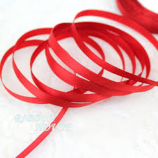 christmas ribbon wholesale aliexpress buy 25 yards roll 1 4 6mm single