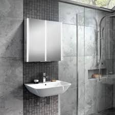 Illuminated Mirrored Bathroom Cabinets Illuminated Bathroom Mirror Cabinets Led Demister Pad Uk Drench
