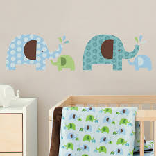 amazon com skip hop wall decals elephant parade nursery wall