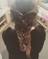hair plait with chopstick loose chopstick curls on myself auburn ginger hair occasion