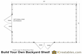 shed floor plan 14x20 shed plans easy to build regular shed plans