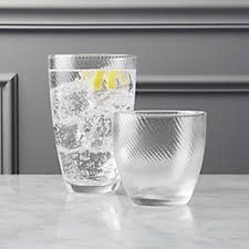 unique barware modern and unique glassware cb2
