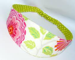 fabric headbands reversible headband etsy