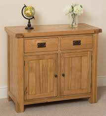 cottage solid oak small sideboard cabinet 98 x 47 x 86 cm amazon