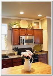 decorating ideas for above kitchen cabinets kitchen the adding cabinets above kitchen cabinets with