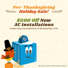 all year cooling announces their pre thanksgiving sale nb herard