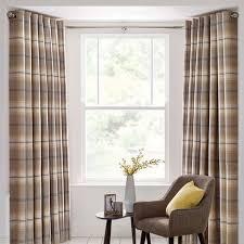 Dunelm Curtains Eyelet Stainless Steel 4m Eyelet Bay Pole Dunelm