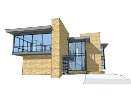 modern home plan contemporary floor plans homes modern house plan front view