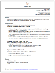 mba internship resume sample gallery creawizard com