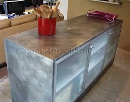 plan de travail en zinc pour cuisine plaque zinc pour plan travail plan de travail en zinc with