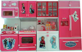 kitchen set furniture frozen big size modern kitchen set with 4 compartments musical and