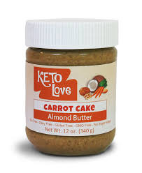 amazon com keto love carrot cake almond butter grocery