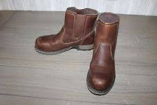 womens caterpillar boots size 9 cat work safety boots for ebay