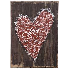 stylecraft wi52284 love wall decor hope home furnishings and