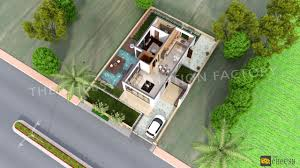 villa house plans 3d floor plans for house and bedroom architectural rendering