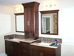 Bathroom Counter Shelves Bathroom Counter Storage Tower Vanities With Towers