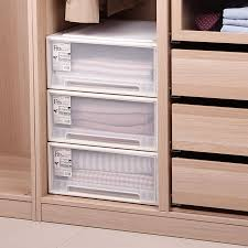 storage cabinet with drawers 1pcs plastic drawer storage box underwear storage cabinet finishing