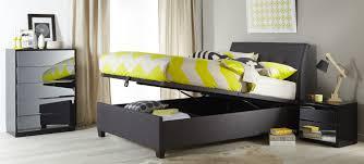 furniture dark grey uphilstered queen bed with hidroulic storage