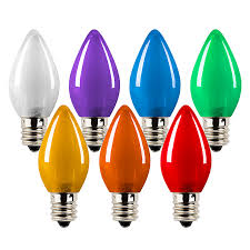 c7 led bulbs ceramic style replacement christmas light bulbs 4