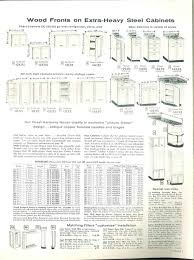 Cabinet Sizes Kitchen by 1958 Sears Kitchen Cabinets And More 32 Page Catalog Retro