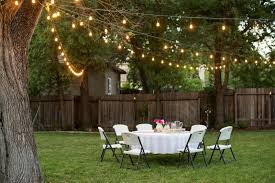 outdoor backyard party lights home outdoor decoration