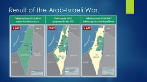Israel Map 1948 Israeli Palestinian Conflict Background Information Israel Is
