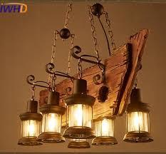 Ship Light Fixture Iwhd American Loft Vintage Industrial Led Pendant Lights E27 6