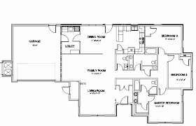 4 bedroom floor plans lovely 4 room house plans home house floor