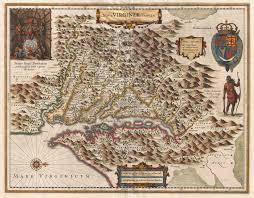 Maps Of Virginia by File 1630 Hondius Map Of Virginia And The Chesapeake