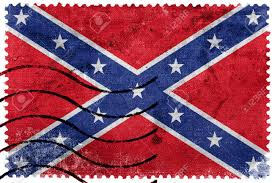 Confederate Flag Tennessee Confederate Flag Old Postage Stamp Stock Photo Picture And