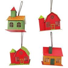 paper house ornament set 4ct wondershop target