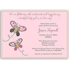 butterfly baby shower butterfly baby shower invitations it s a girl pink