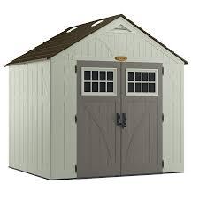 fancy storage sheds shop vinyl u0026 resin storage sheds at lowes com