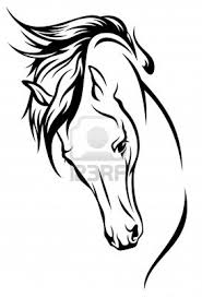 best 25 simple horse drawing ideas on pinterest