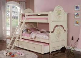 Bedding Girl Bunk Beds Cheap Castle With Desk Stairs For Sale Fonky - Girls white bunk beds