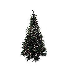 northlight pre lit frosted mixed green pine artificial