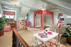 breathtaking attic style for playroom design inspiration introduce