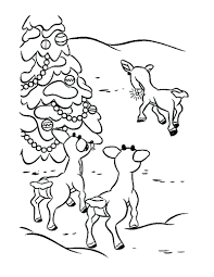 articles rudolph red nosed reindeer face coloring pages