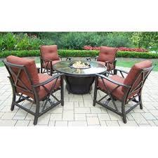 Gas Fire Pit Table Sets - fire pit table sets you u0027ll love wayfair
