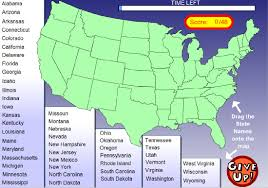 Us Maps With States Games For Geography Geography Maps State Abbreviations Map Lower