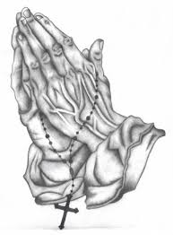 images praying hands tattoo sketches