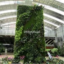 custom design indoor artificial plants wall for home decoration