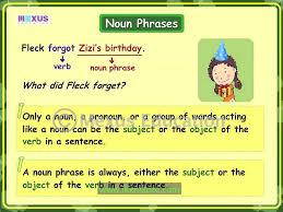 noun phrases youtube