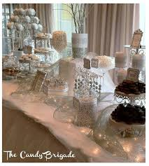 Black And White Candy Buffet Ideas by Best 25 Elegant Candy Buffet Ideas On Pinterest Wedding Candy