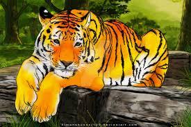 tiger the jungle king by himanshusoni100 on deviantart